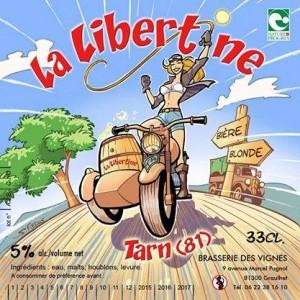 La Libertine - Brasserie des vignes